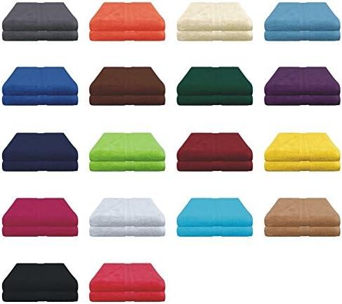 Frottier Serviette 50x100 cm 100/% coton différentes couleurs