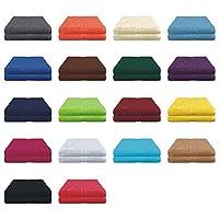 6er Pack / 12er Pack Gästetücher Set in vielen Farben - Gästetuch 30x50 cm