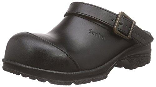 sb Sabots black Open 2 San duty Noir Mixte Sanita Adulte qtgaIwf