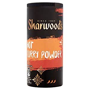 Sharwoods Hot Curry en polvo - 6 x 102gm