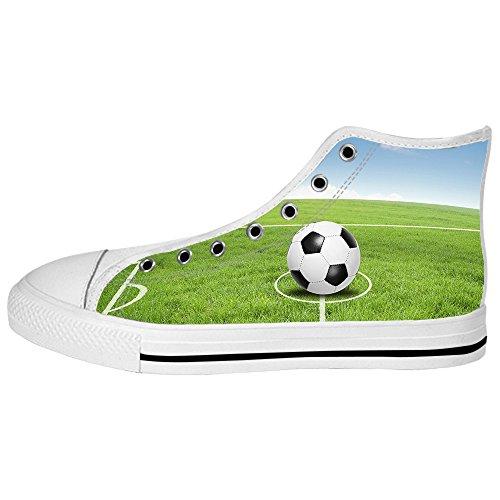 Custom sport calcio Womens Canvas shoes I lacci delle scarpe scarpe scarpe da ginnastica Alto tetto