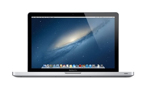 Apple MacBook Pro MD104LL/A 15.4-Inch Laptop (Intel Core i7 2.6GHz, 8GB Memory, 750GB HDD, Mac OS X v10.8 Mountain Lion, 2012 Model), Silver
