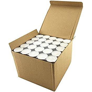 Stonebriar Tealight Candles, 6 to 7 Hour Extended Burn Time, 200 Bulk Pack