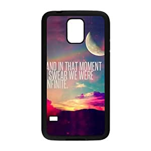 QQQO perks of being a wallflower quotes Phone Case for Samsung Galaxy S5 Kimberly Kurzendoerfer
