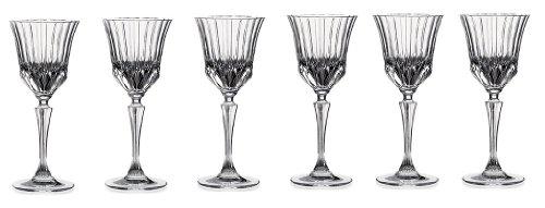 - RCR Crystal Adagio Collection Liquor Glass Set