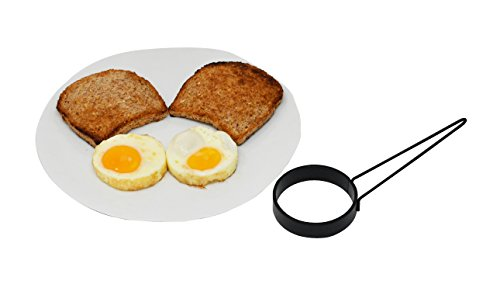 - Home-X Weighted Egg Container Rings for Frying Pan, Breakfast Cooking Utensil