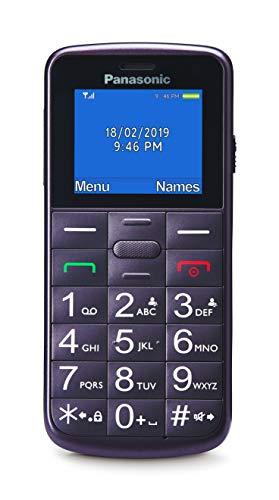 🥇 Panasonic KX-TU110EXV- Teléfono móvil para personas mayores