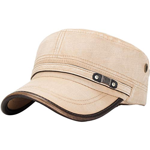Mens Outdoor Cotton Sunshade Military Army Cap Adjustable Du