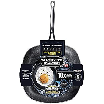 Amazon.com: Blue Diamond Coated Frying Pan (28 cm): Kitchen & Dining