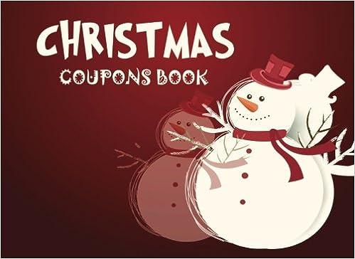 Christmas Coupons Book Christmas Coupon Book Love Coupons Last