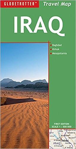 Travel Map Iraq (Globetrotter Travel Map): Globetrotter ...