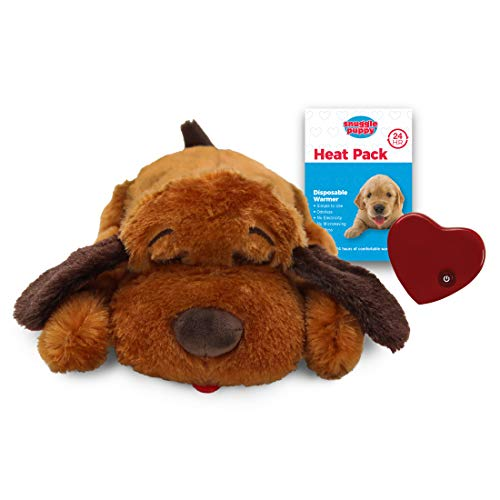 - SmartPetLove Snuggle Puppy Behavioral Aid Toy, Brown Mutt