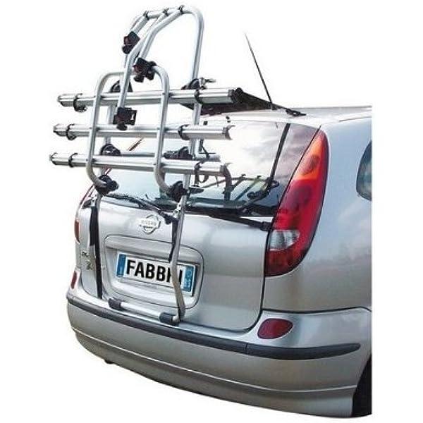 Fabbri 6201810 Portabicicletas trasero para coche, capacidad para ...
