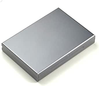 Cajas para Tarjetas de Visita Sostenedor de la Tarjeta RFID Bloqueo [4 Slots |aleación de Aluminio] Titular de la Tarjeta de Tarjeta de crédito ID Protección/Seguridad portátil de Viaje Identidad de: Amazon.es: