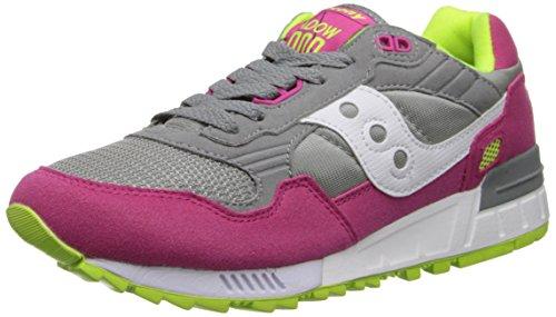 size 40 22991 4f3a2 Galleon - Saucony Originals Women s Shadow 5000 Fashion Sneaker,Grey Pink,10  M US