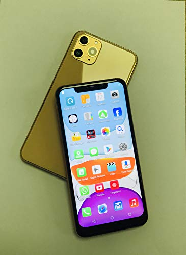 Unlocked Smartphones, X20Pro-L (2020) Android Phone, 6.11-inch HD+U Nouth Screen, 3GWCDMA : 850/2100MHZ SIM Card Frequency Band, 2GB RAM 16GB ROM, 3800mAhBuilt-in, Front and Rear Cameras (Gold)