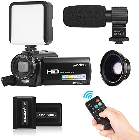 Andoer HDV-201LM 1080P FHD Digital Video Camera Camcorder DV