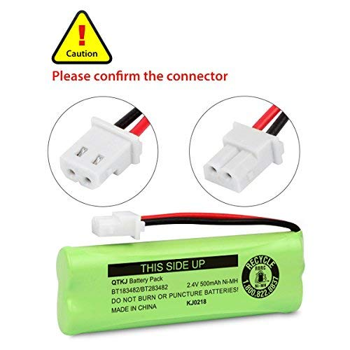 Pack of 3 GEILIENERGY BT183482 BT283482 Ni-MH Cordless Phone Battery Compatible with Vtech DS6401 DS6421 DS6422 DS6472 LS6405 LS6425 LS6426 LS6475 LS6476 89-1348-01-00