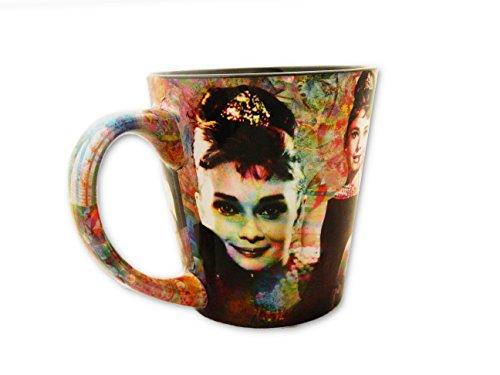 Audrey Hepburn Mug With Collage