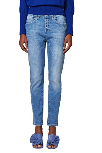 Jean Bleu Esprit Blue Boyfriend 903 Light Wash Femme TxgwAP