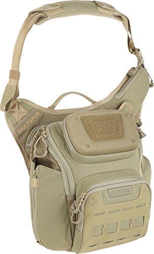 Maxpedition Wolfspur Shoulder Bag, Tan ()