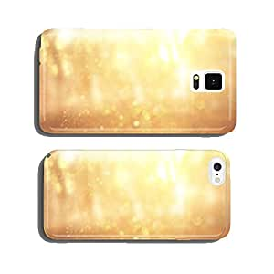 blurred abstract photo of light burst among trees and glitter bo cell phone cover case Samsung S6