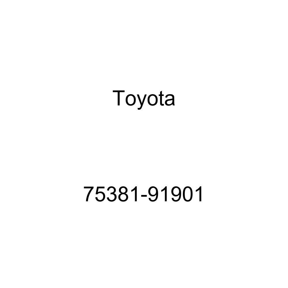 TOYOTA 75381-91901 Name Plate