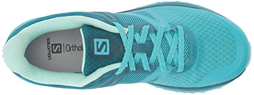 Lagoon Damen Deep Bluebird Traillaufschuhe Glass W Beach Trailster Salomon Blue U61qwvf00