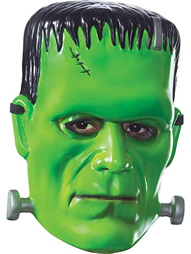 Rubie's Costume Co Men's Universal Monsters Frankenstein Vacuform Adult Mask, As Shown, One Size
