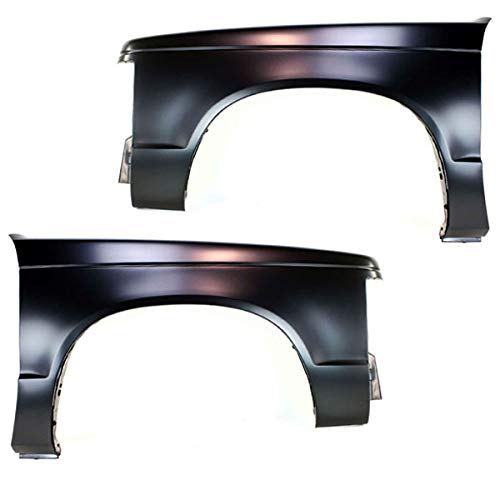 Koolzap For Chevy S10 Pickup Truck Front Fender Quarter Panel Left Right Side SET PAIR