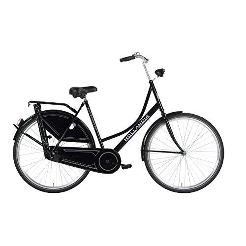 Hollandia Royal Dutch Bicycle, Single Speed, 700c X 19 inch, Black