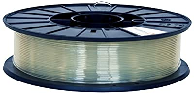 Fillamentum PLA Extrafill 2.85mm 3D Printer PLA Filament Spool, Diameter Tolerance +/- 0.05mm, 1.65 lb, Crystal Clear