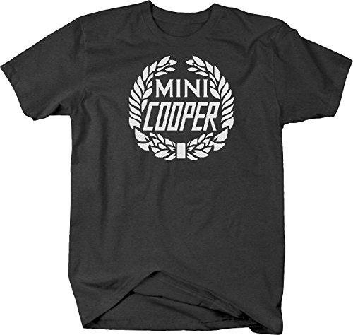 Mini Cooper Vintage Wreath Logo Tshirt - XLarge