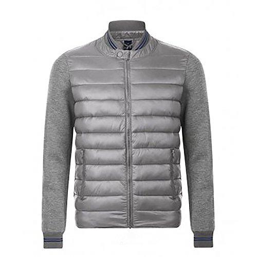 SOL'S Unisex Volcano Padded Jacket (XXL) (Gray Marl/Metal Gray)
