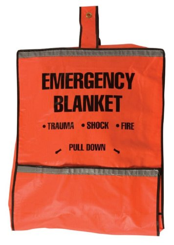 Safety Flag 8025 Emergency Fire Blanket and Pouch by Safety Flag