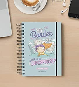 Missborderlike - Agenda 2019 Dia vista - Border: Amazon.es