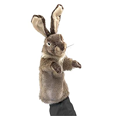 Folkmanis Rabbit Stage Puppet: Toys & Games