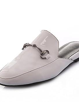 ZQ gyht Zapatos de mujer-Tacón Bajo-Punta Redonda / Zapatillas-Mocasines-