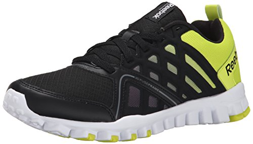 3 Black Semi 0 White Yellow Men's Gravel Realflex Grey Train Flat Solar Reebok tXHwCq4W