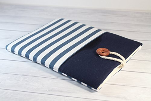 97-inch-iPad-Pro-Cover-Case-with-Pocket-iPad-Air-2-Sleeve-in-Blue-stripes-Print