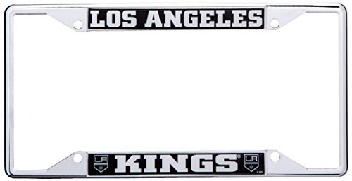 NHL Los Angeles Kings License Plate Frame, 6.25 x 12.25 Small, schwarz by Fanmats