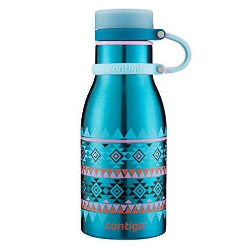 Contigo Thermalock(TM) Maddie Stainless Steel Kids Water Bottle, 12 oz., Biscay Bay