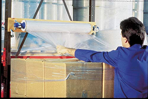 Top Sheeting, Hand Dispensed, 1-Side Cling, Standard, 60'' x 5 ft, Gauge: 125, Clear