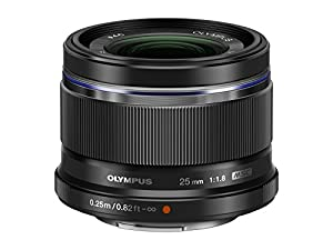 Olympus 25mm f1.8 Interchangeable Fixed Lens - International Version (No Warranty)