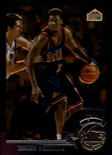 2002 Topps Chrome Basketball Rookie Card (2002-03) #139A Nene Near (03 Topps Chrome Rookie Basketball)