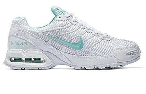 Nike Air Max Torch (NIKE Women's Air Max Torch 4 Running Shoes (8 B(M) US, White/Mint))