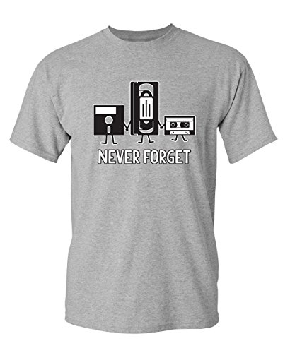 (Never Forget Graphic Cool Novelty Funny Youth Kids T Shirt YS Sport)