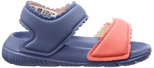 adidas Unisex Baby Altaswim Sandalen Violett (Super Purple/haze Coral/Easy Coral)