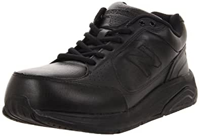 New Balance Men's MW928 Lace Walking Shoe,Black,8 4E US