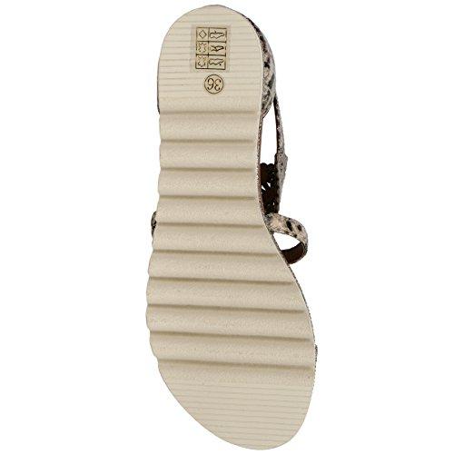Sandale von La femme plus in natural/beige lf-sf02-4 natural/beige